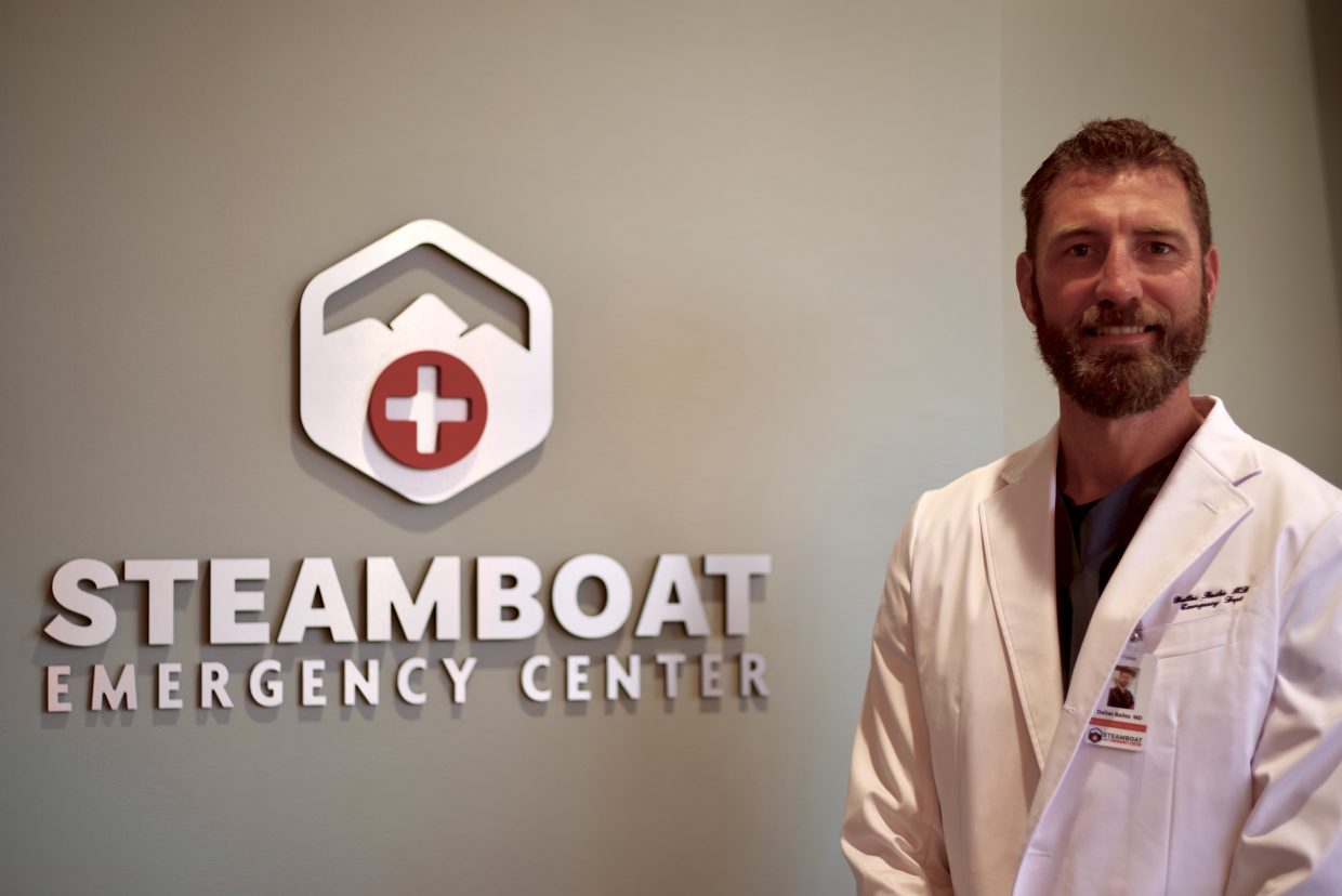 Dr. Dallas Bailes, medical director and owner at Steamboat Emergency Center, said many medical emergencies can be prevented by making healthier lifestyle choices throughout life.
