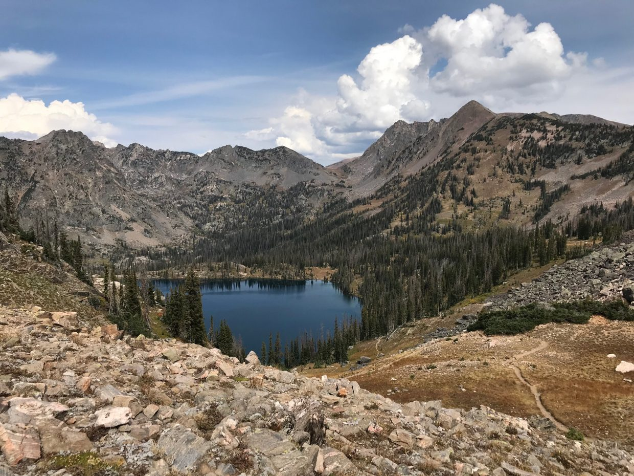 Summer holds on at Gilpin Lake.