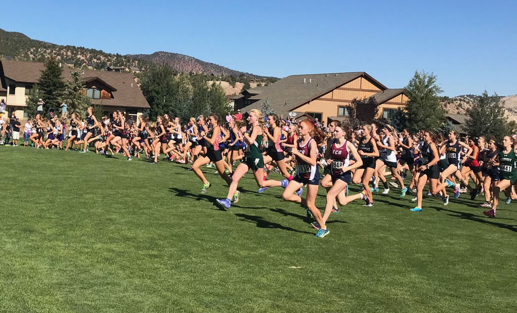 The varsity girls Eagle Valley Invite takes off on Saturday, Sept. 15.