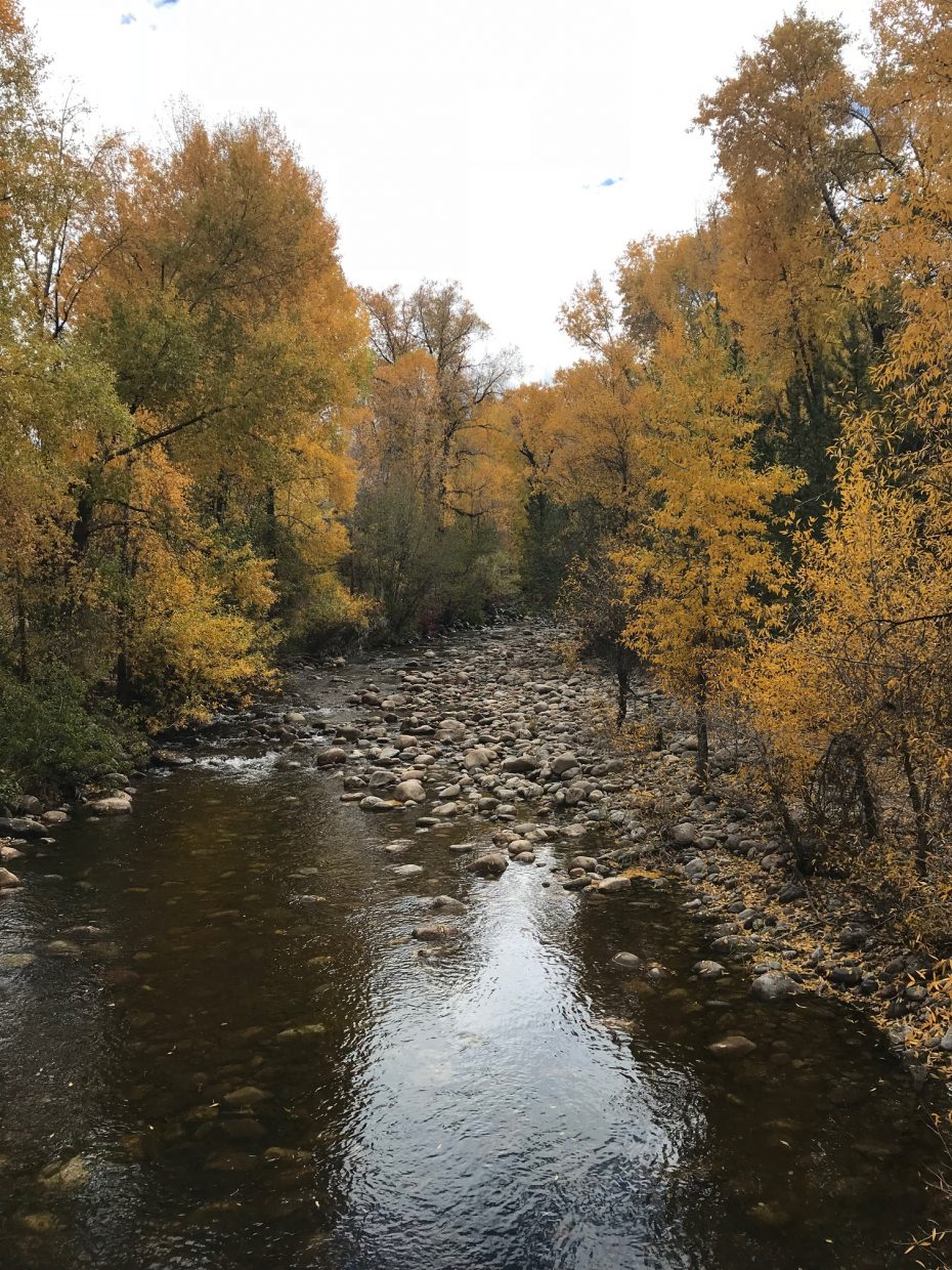 Yampa River in Steamboat Springs.