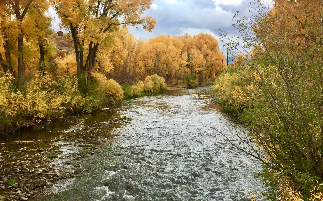 Views from the Yampa River Core Trail in Steamboat Springs.