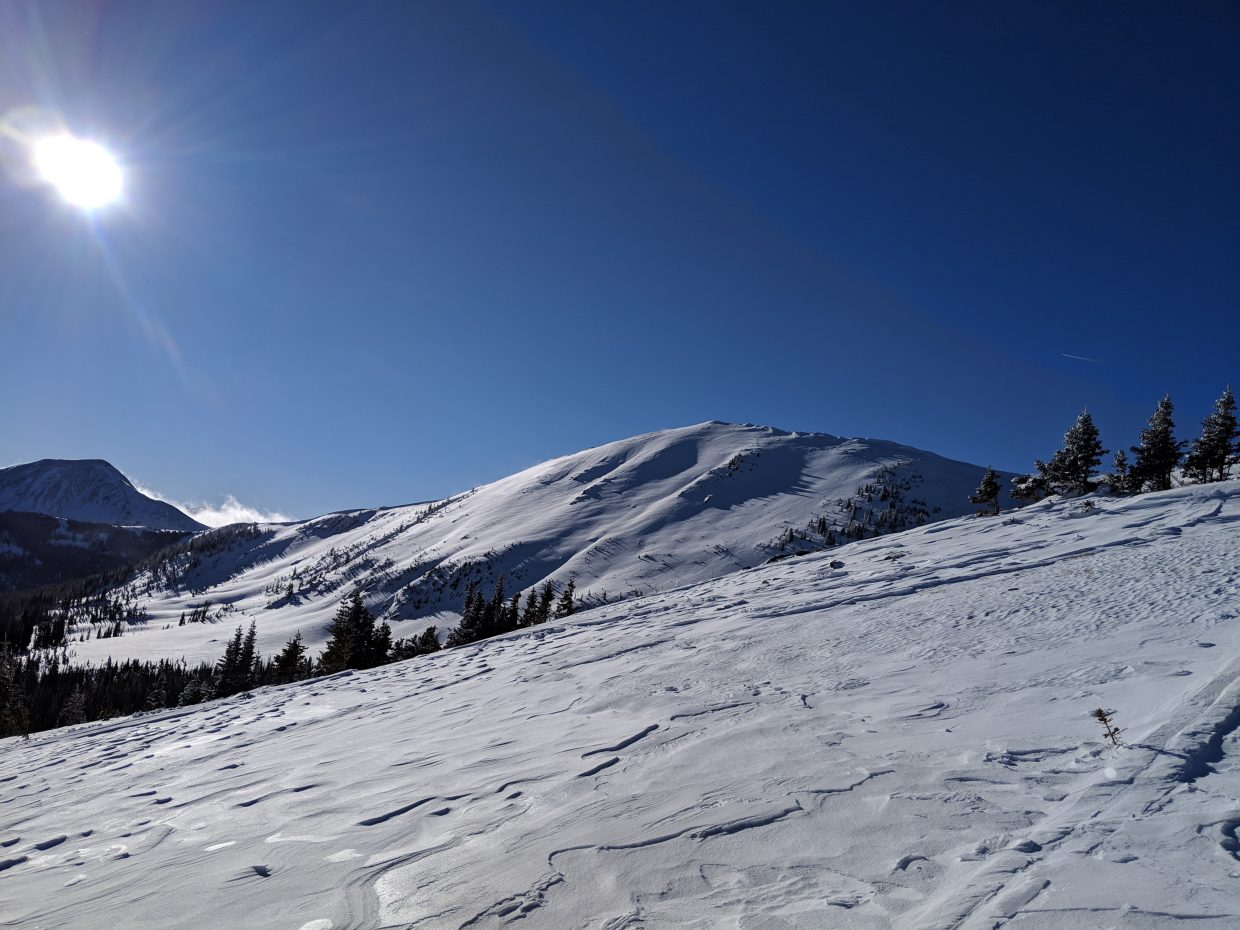 Reader Matthew Wood shares snaps of his adventures in deep snow along Cameron Pass.
