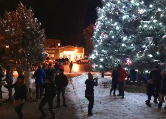 VIDEO: Steamboat Springs Lights up the Night