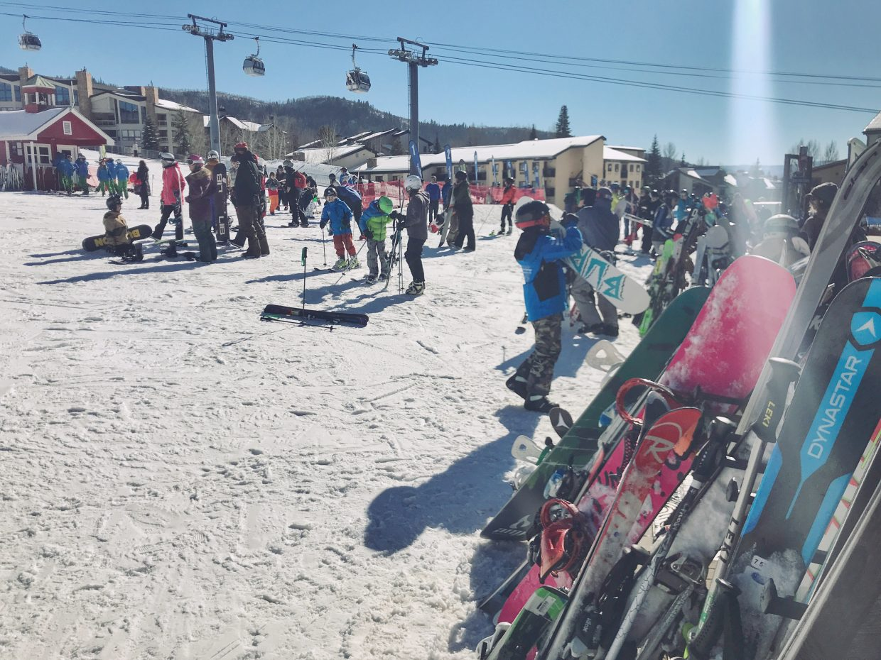 Opening Day at Steamboat Resort was a successful day.