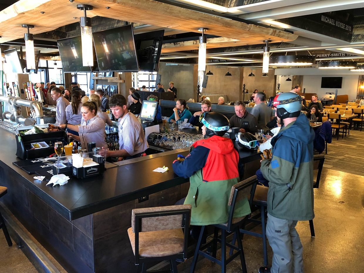 Steamboat Resort Remodeled The Bear River Bar Grill And Reopened Base Area Restaurant Wednesday As Timber Torch Photo By Matt Stensland