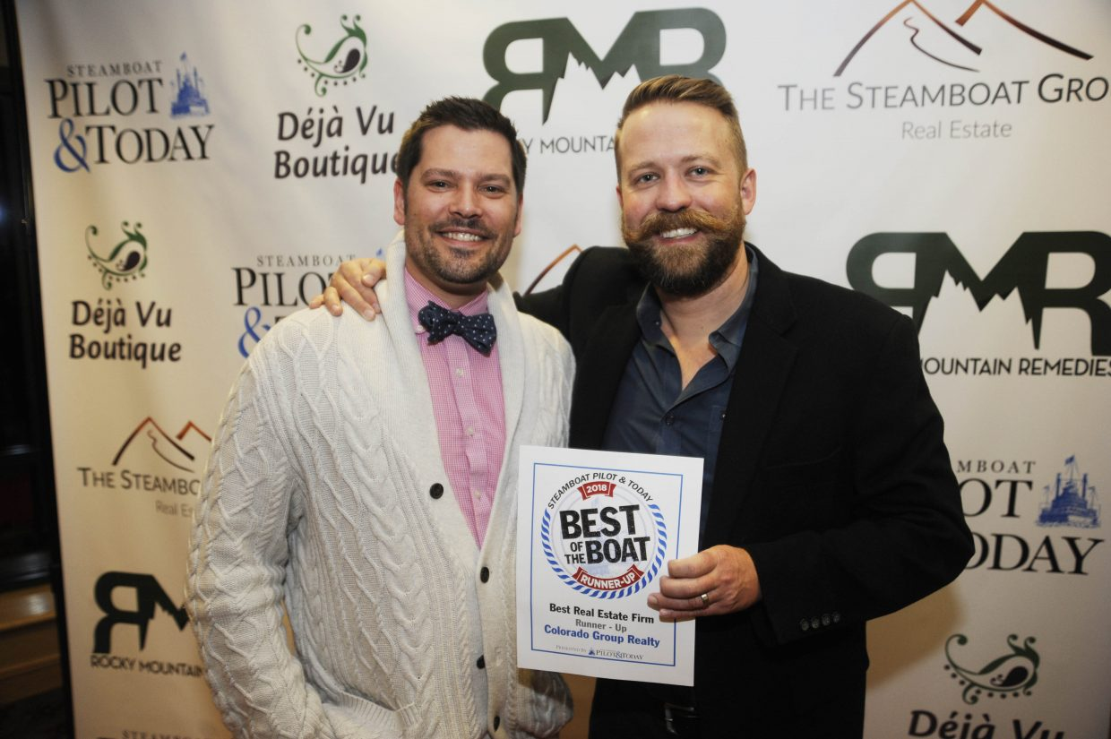Geoff Petis and Matt Eidt, of Colorado Group Realty