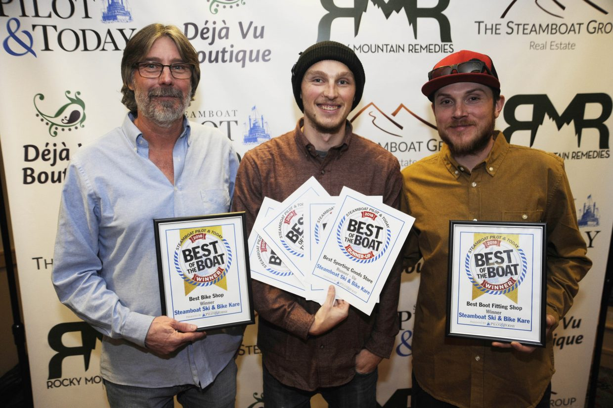 Best Bike Shop and Best Boot-Fitting Shop: Steamboat Ski & Bike Kare