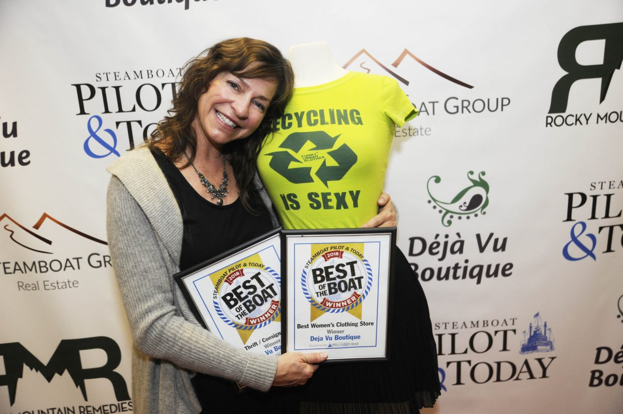 Best Women's Clothing Store and Best Thrift/Consignment Store: Deja Vu Boutique