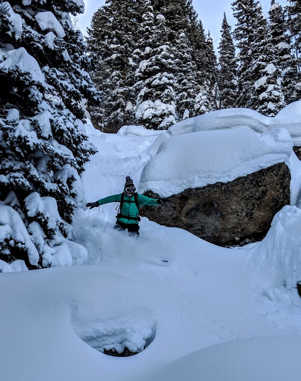 Matthew Wood shares photos of his backcountry adventures.