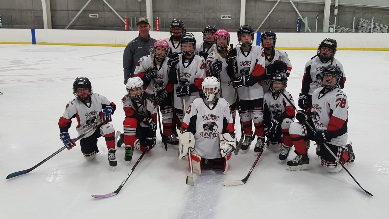 Steamboat's U12 Girls hockey team traveled to Salt Lake City this past weekend for league games.