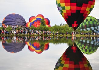 Balloon festival, Art in the Park: Welcome to Steamboat's most colorful weekend of the year