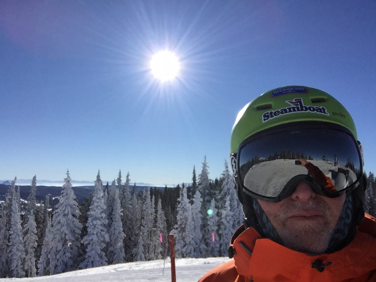 Cold and clear at Steamboat Resort.