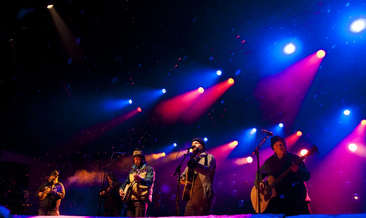 Trampled by Turtles play the main stage on Saturday, Feb. 23, at WinterWonderGrass in Steamboat Springs.