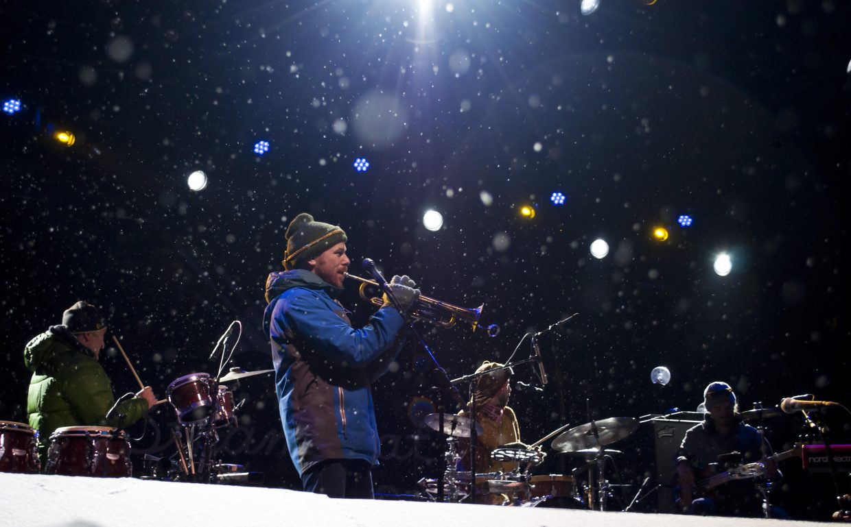 California Honeydrops play the main stage on Saturday, Feb. 23 at WinterWonderGrass in Steamboat Springs.