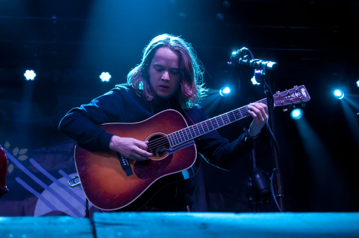 Billy Strings plays the main stage on Sunday, Feb. 24, at WinterWonderGrass in Steamboat Springs.
