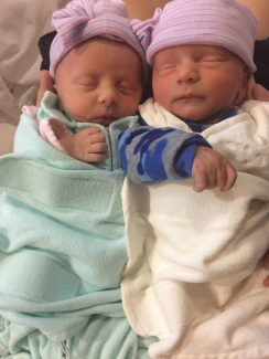 Births: Rory Margaret and Noah James MacDougall