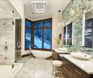 Trend report:Add texture and color while upgrading your master bath