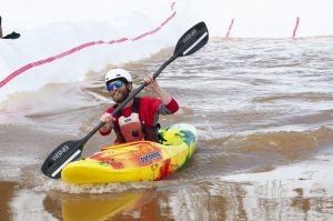 Kayakers paddled Howelsen in annual snow race, but they'll hit the Yampa soon