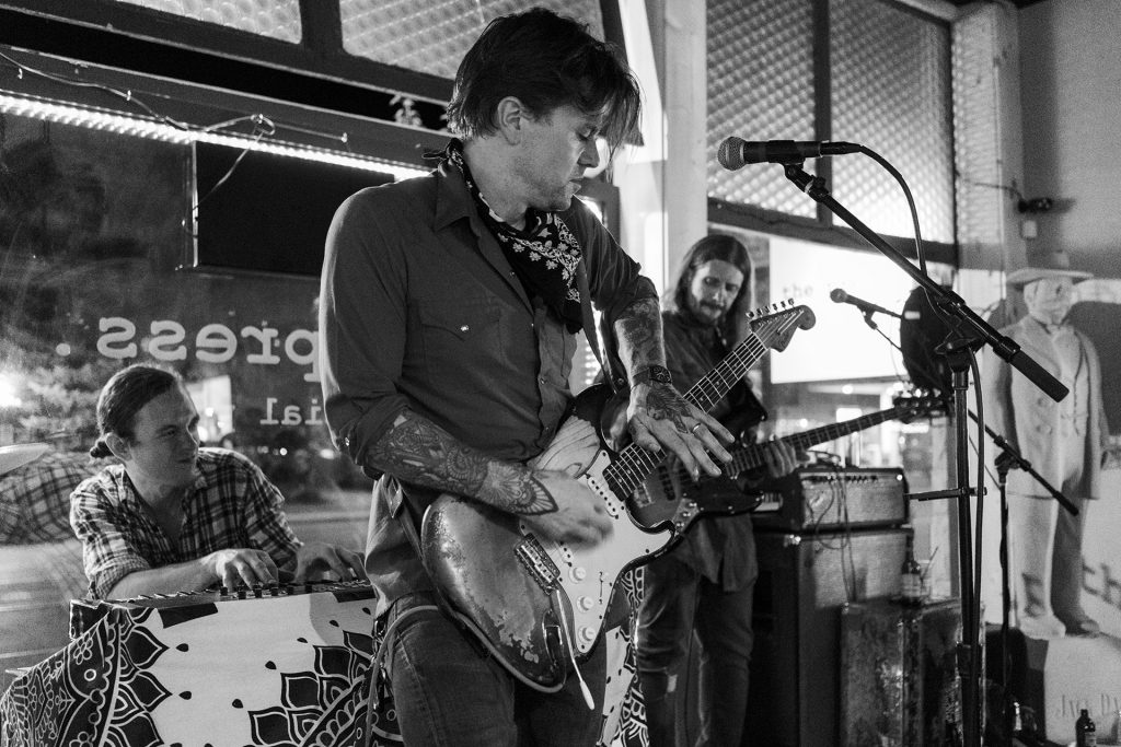 Austin, Texas-based blues-rock guitarist and singer-songwriter Eric Tessmer plays at The Press on Thursday, March 28. (photo courtesy of Jen Ronan)