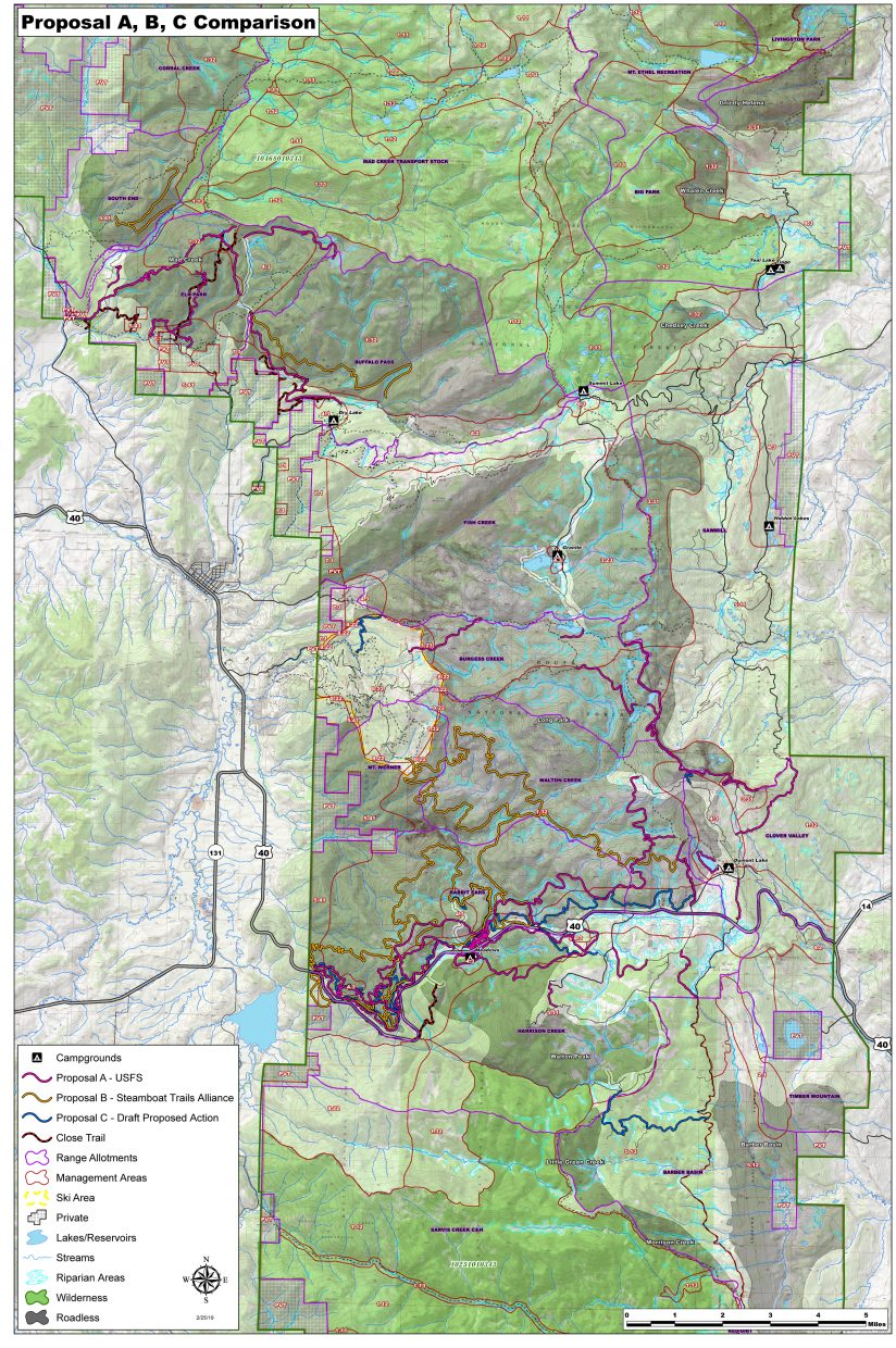 Routt Recreation Roundtable working through new alignment of trails ...