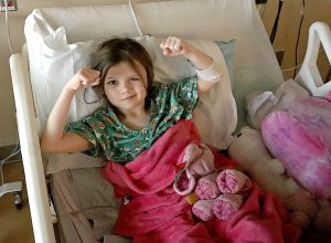 Clark 6-year-old continues to 'fight' on her road to recovery