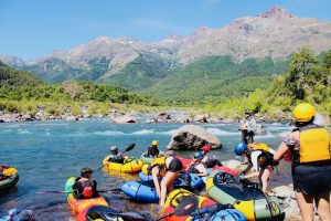 Colorado Mountain College students packraft and learn about river preservation in Chile