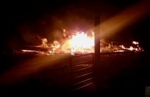 Fire burns historic barn north of Milner on a night when multiple calls highlight the need for more emergency personnel