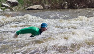 Tree snags and foot traps: Students learn river safety during swiftwater rescue course