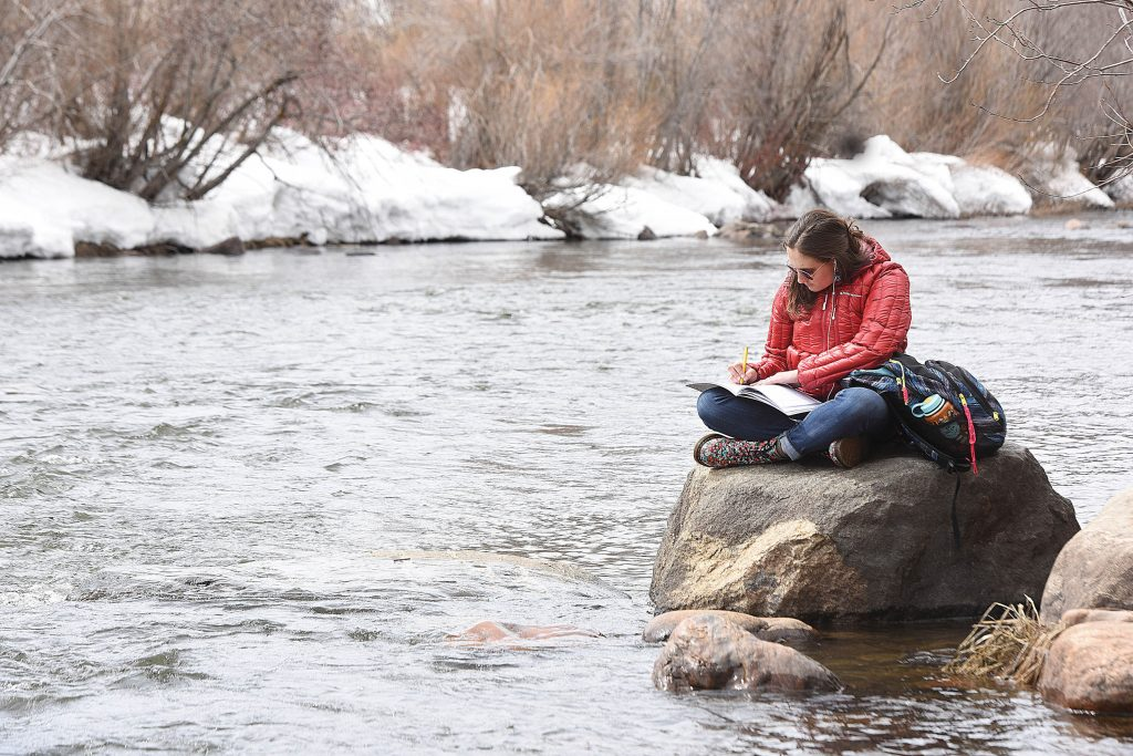 Snowpack has peaked and the Yampa River is on the rise as temperatures head into the 60s