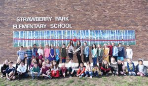 Strawberry Park Elementary reveals student-made mural