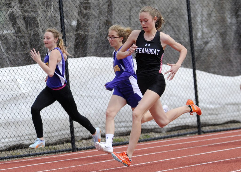 How Steamboat Springs High School hosted its 1st track meet