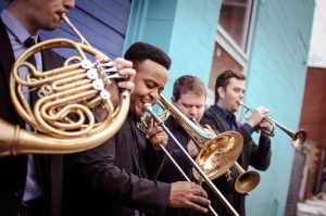 C Street Brass plays shows across Steamboat in Strings' 1st spring residency
