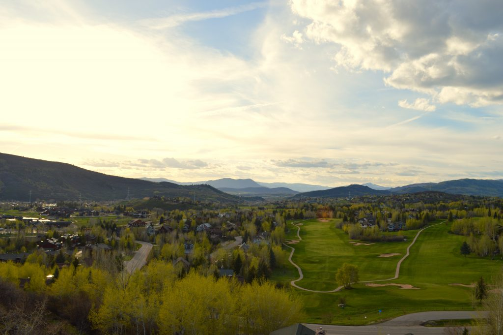 The Yampa Valley is turning green.