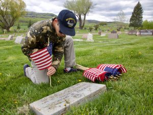 Routt County veterans honor their fallen comrades on Memorial Day