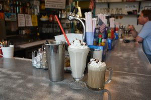 RECIPE: Johnny B. Good's Diner's homemade Irish creme adult milkshake