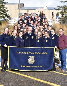 Soroco FFA students honored at annual banquet