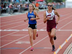 Soroco's Chloe Veilleux wins first track state title, with more events to go
