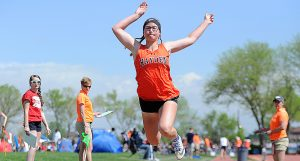Alison Rajzer leaps for state title as Hayden track continues to chase podiums at state