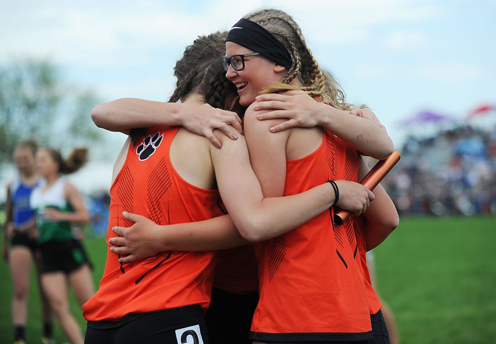 PHOTOS: Soroco and Hayden at state track