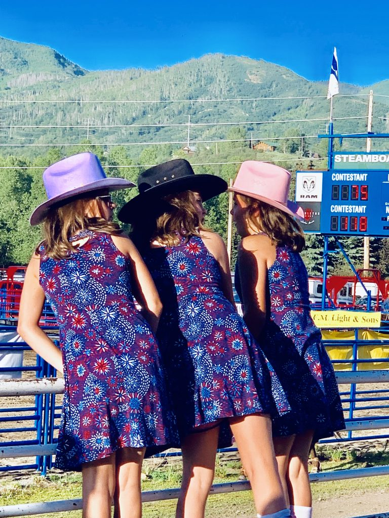 Triplet Cowgirls