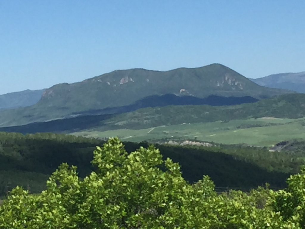 Elk Mountain from Emerald Mountain.