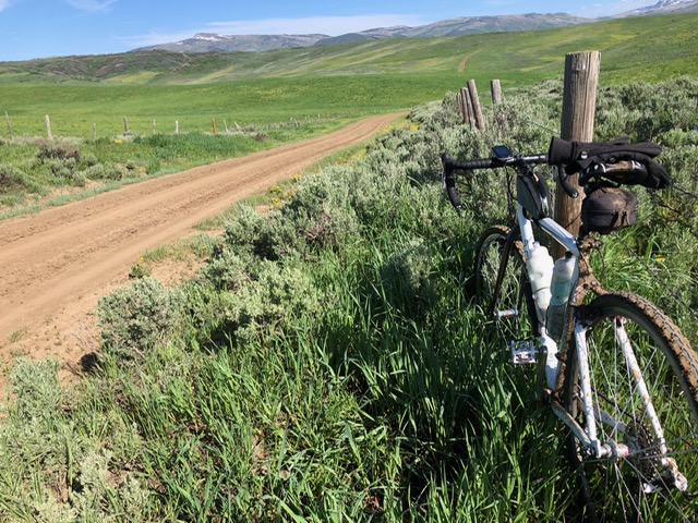 Chris Richmond shares photos from his gravel bike adventure.