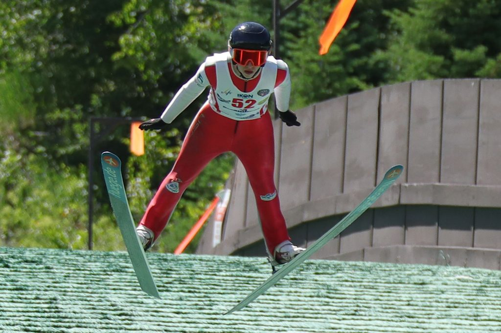 Fourth of July Ski Jumping