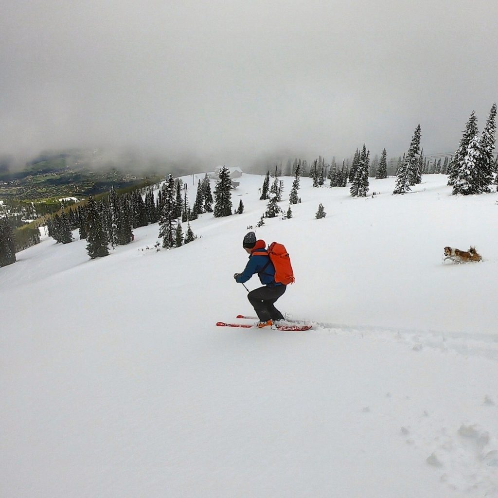 June 22 powder day in the Boat!!