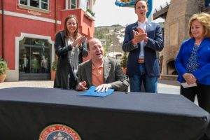 Jared Polis Q & A in Vail: Governor on Trump, housing, I-70, gun law