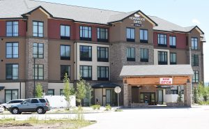 Wet month has new  Steamboat hotel wading through drainage issues