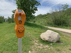 New trail meters allow users to donate trailside to maintain area trails