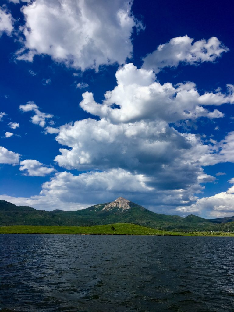 View from Steamboat Lake