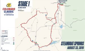 Opening stage of Colorado Classic in Steamboat Springs filled with challenging climbs