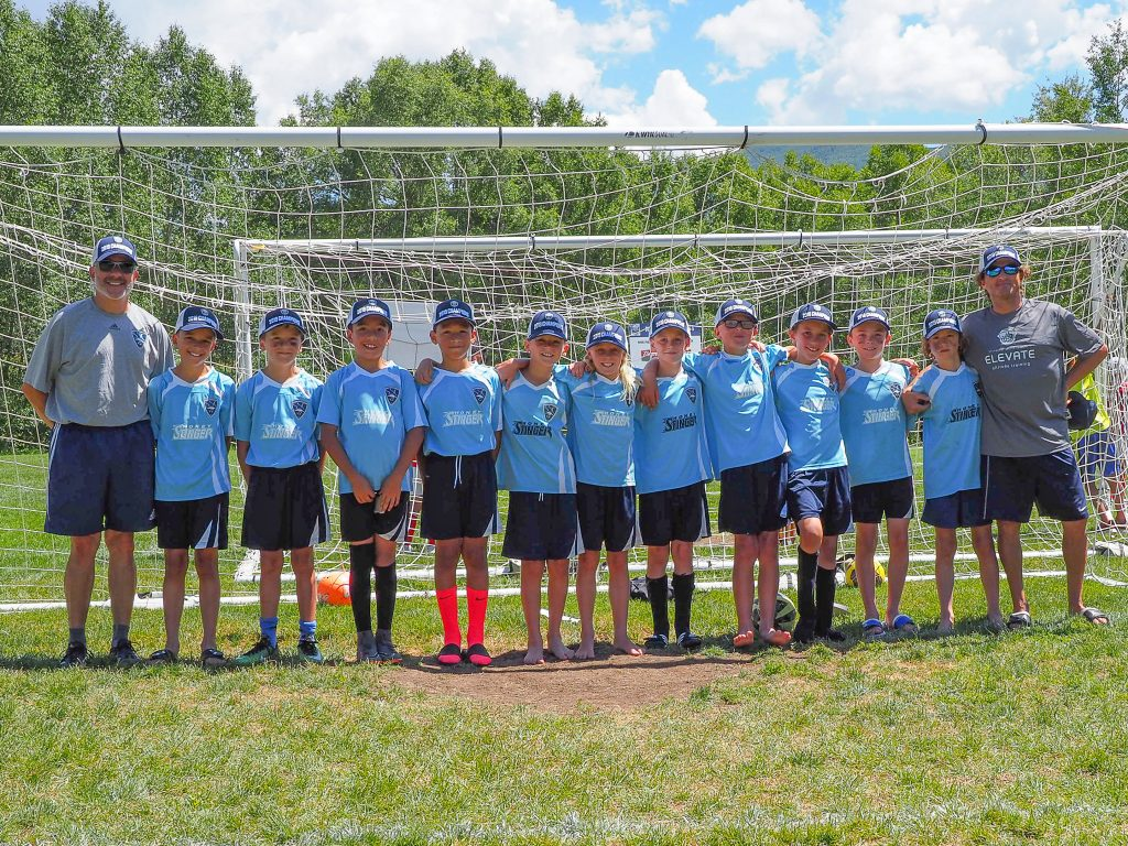 The U10 Boys won their division in the Steamboat Mountain Soccer Tournament championship game. The U10 Girls also won their championship game.